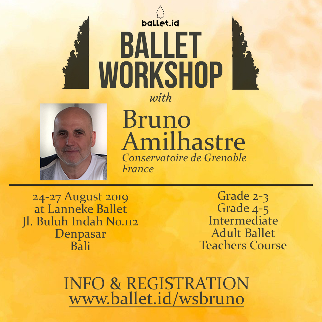 Ballet Workshop with Bruno Amilhastre