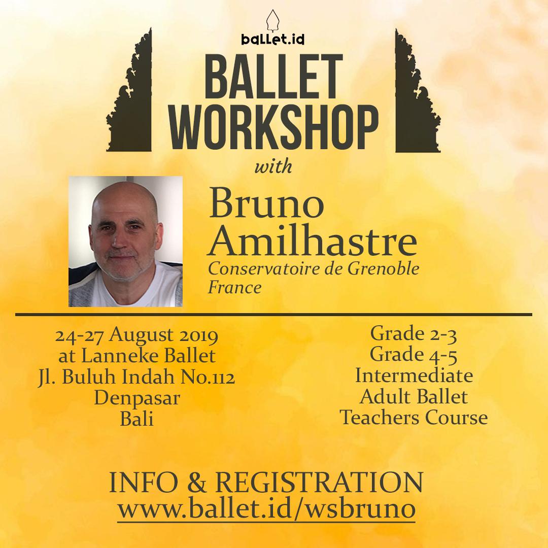 Ballet Workshop with Bruno Amilhastre